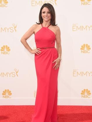 Julia Louis-Dreyfus attends the 66th Annual Primetime Emmy Awards.