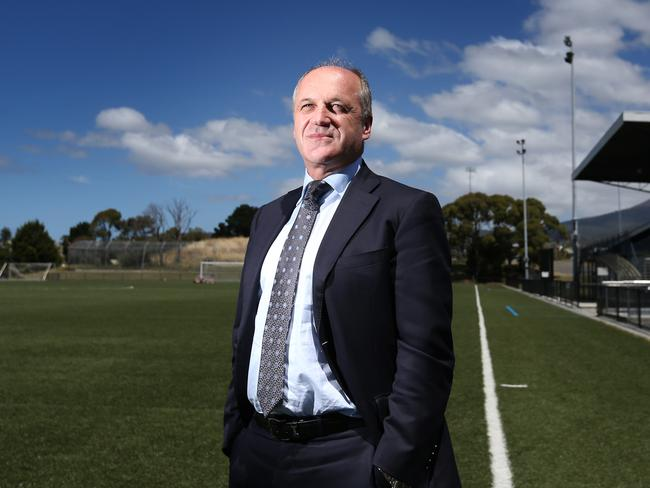 Robert Belteky is pushing for an A-League soccer team in Tasmania.