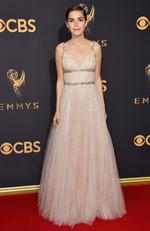 Kiernan Shipka attends the 69th Annual Primetime Emmy Awards at Microsoft Theater on September 17, 2017 in Los Angeles. Picture: Getty