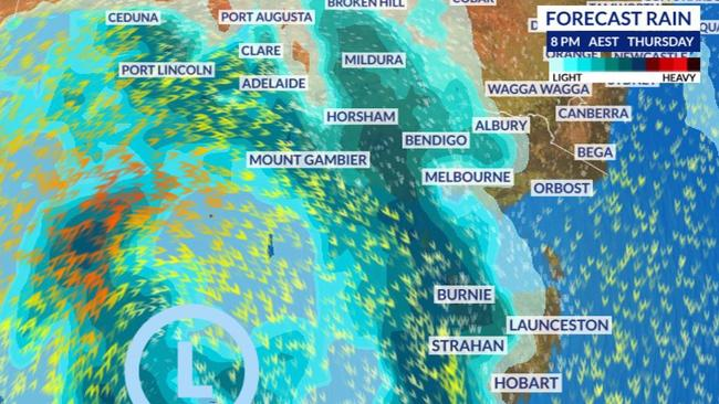 Melbourne, Adelaide weather: VIC and SA to be hit with icy
