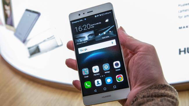 The new P9 smartphone by Chinese tech company Huawei.