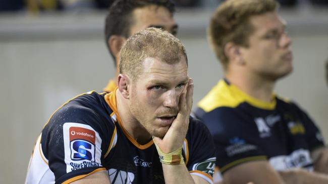 Brumbies flanker David Pocock remains sidelined with a calf injury.