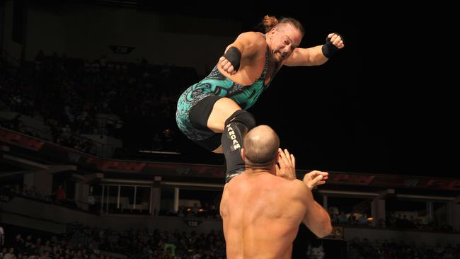 Wrestler Rob Van Dam. Supplied