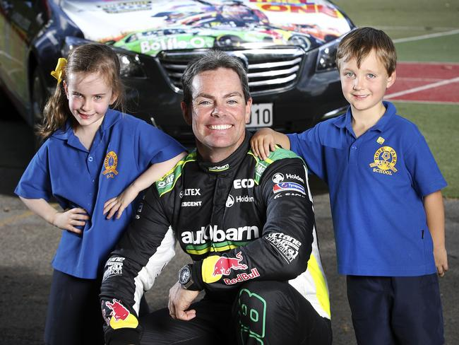 Class act Craig Lowndes is looking to be more consistent. Picture Sarah Reed