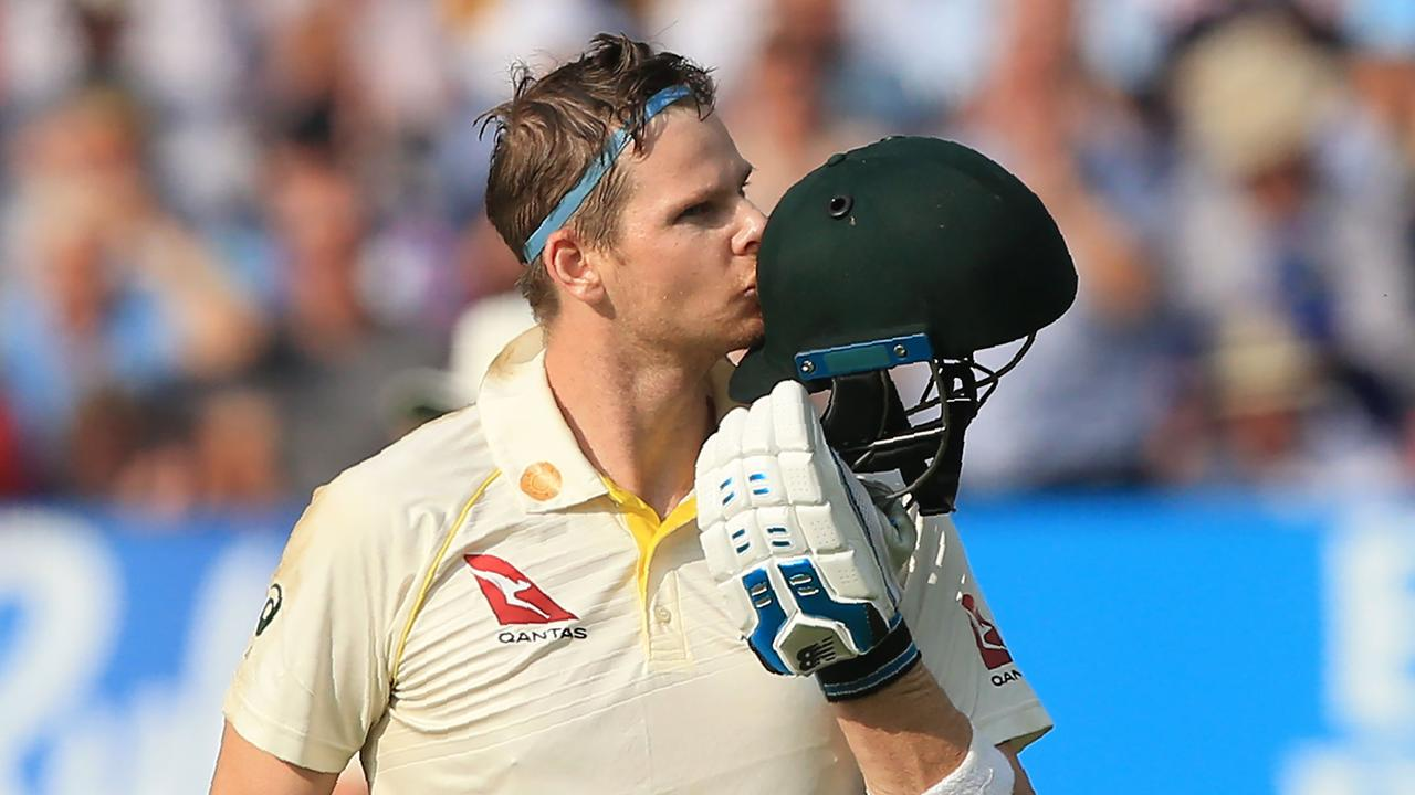 Steve Smith swung the first Test Australia's way.