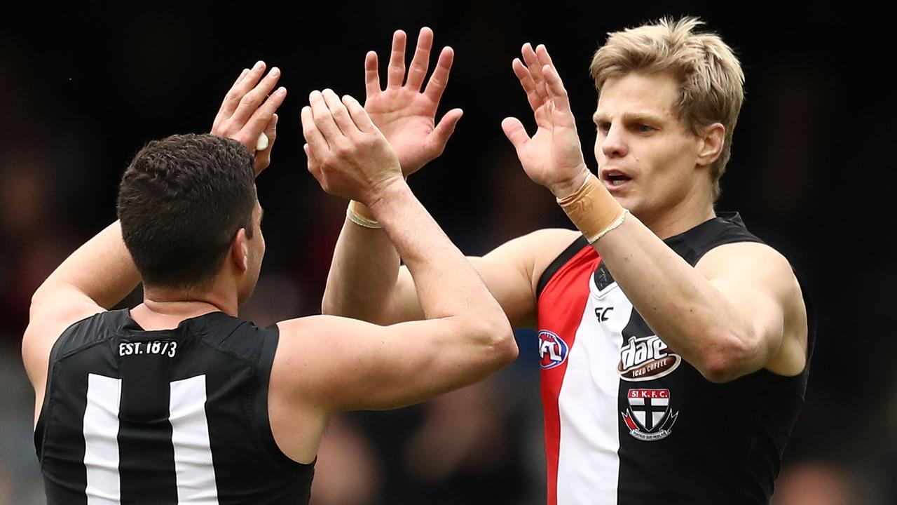 Nick Riewoldt spent 11 years as captain of St Kilda.
