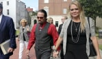 Tammy and Sidney Moorer. (Janet Blackmon Morgan/The Sun News via AP)