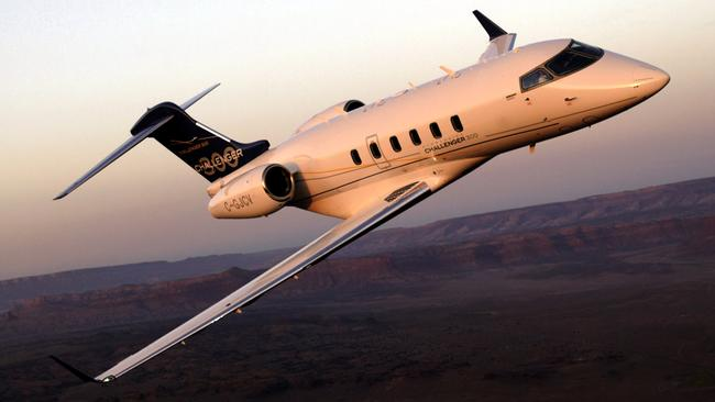 Justin Hemmes dropped $40 million on a Bombardier Challenger 300 private jet.