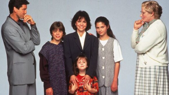 Matthew Lawrence and the cast of Mrs Doubtfire