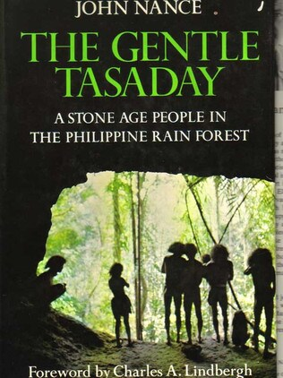 American photographer and journalist John Nance wrote a best-selling book about the Tasaday. Picture: Supplied