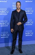 Taylor Kinney attends the 2017 NBCUniversal Upfront at Radio City Music Hall on May 15, 2017 in New York City. Picture: AP