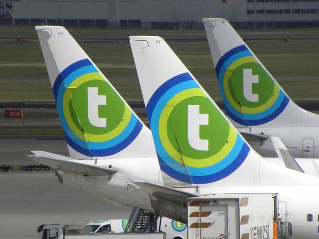 A Transavia flight attendant had a red-faced ordeal after her husband discovered her secret sex diary that detailed encounters with colleagues.