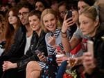 Agyness Deyn, Kate Bosworth, Daisy Lowe and Pixie Geldof attend the Woody Woodpecker x House of Holland AW17 show at London Fashion Week at Tate Modern on February 18, 2017. Picture: Getty