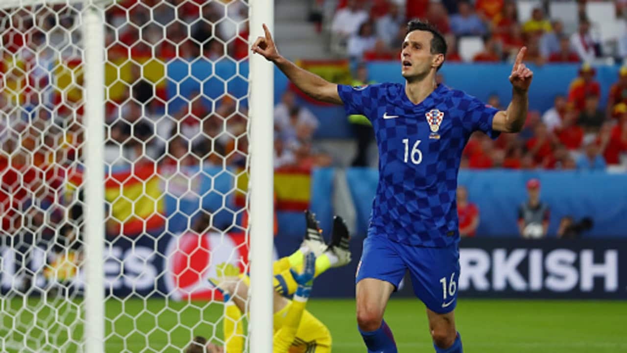 Nikola Kalinic will be watching the World Cup final from home.