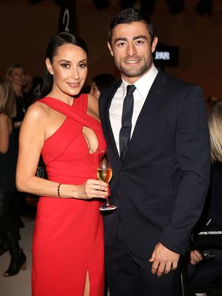 Minichiello and wife Terry on the social scene.
