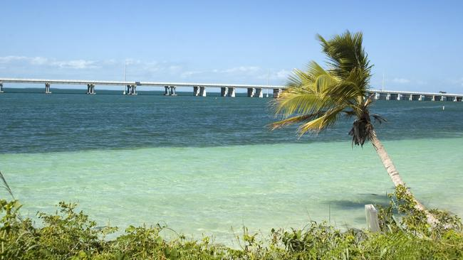 The Overseas Highway features the stunning Florida Straits and bridges of the Overseas Railroad.