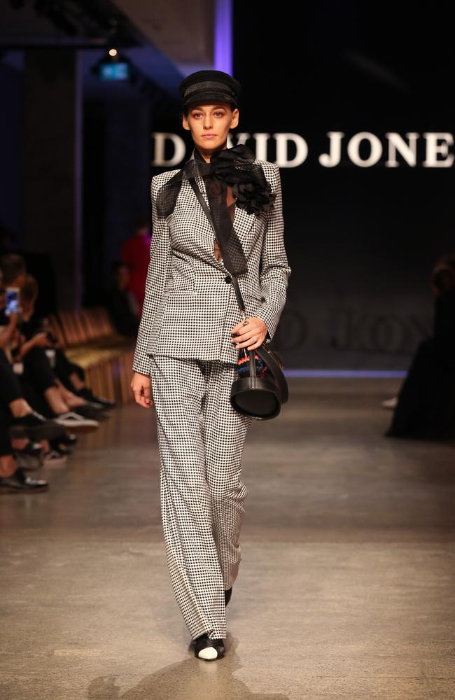 David Jones AW'19 Launch at MONA. Dress rehearsals at The Void. Picture: David Caird