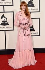 Florence Welch attends The 58th GRAMMY Awards at Staples Center on February 15, 2016 in Los Angeles. Picture: Getty