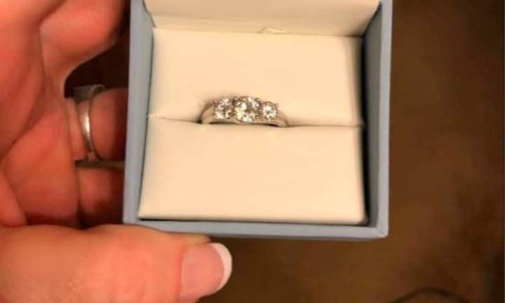 Woman finds ring and slams boyfriend's choice before he's even proposed