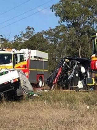Bruce Highway crash, Childers: Two dead after Isis accident | The