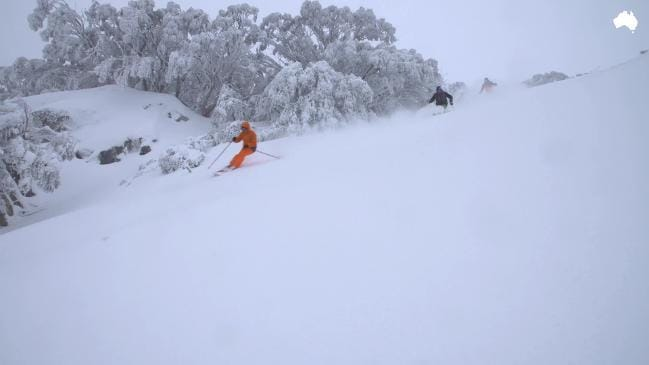 Over 60 centimeters of fresh snow means the ski season will last until the end of September