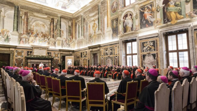 Allegations of sex parties at the Vatican have never been proven. Source: Getty Images