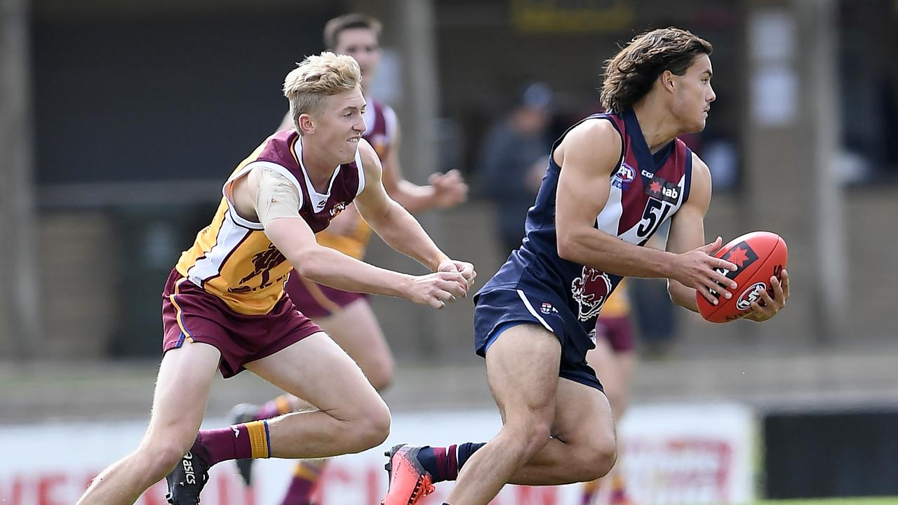 The Brisbane Lions Academy have also had a team in the Under 18 NAB League competition. Photo: Andy Brownbill