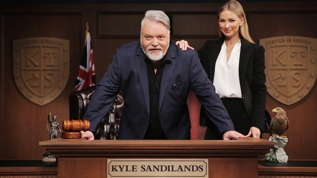 Kyle's TV show, Trial by Kyle, returns to Channel 10 this year. Picture: Sam Ruttyn