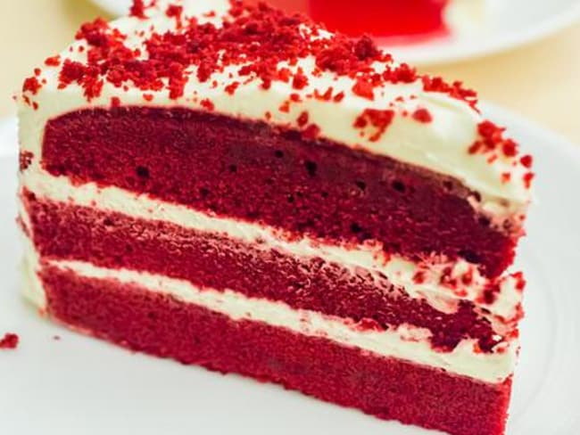 You don't even want to think about what's producing that gorgeous red velvet.