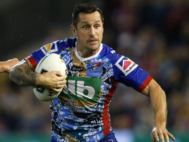 Mitchell Pearce has gone to another level for the Knights this season.