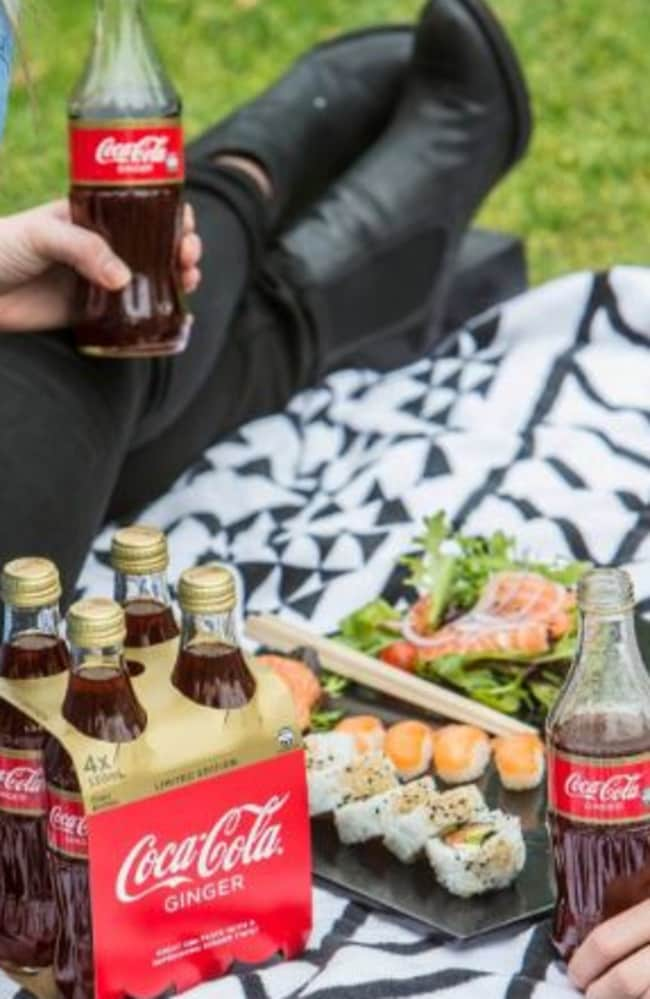 The new Coca-Cola doesn't list ginger on their ingredient label.