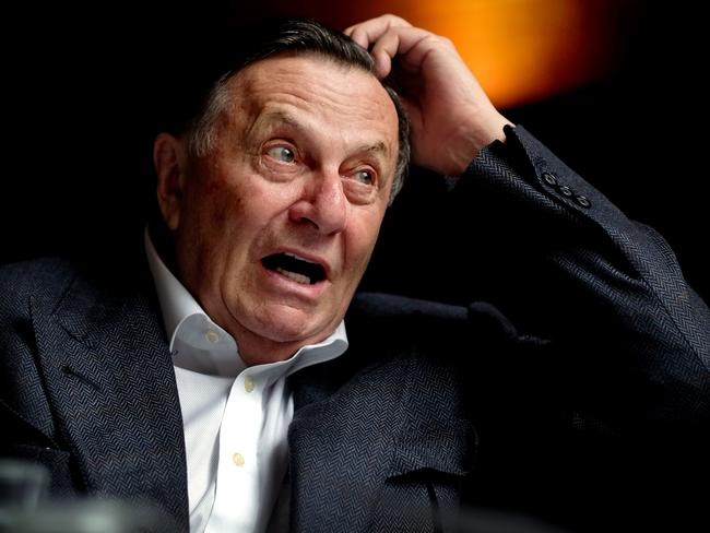 Comedy legend Barry Humphries is the director of next year's Adelaide Cabaret Festival. Picture: Mike Burton