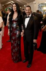 "Cher and Marc Jacobs attend the Met Gala 2015 ""China: Through The Looking Glass"". Picture: Getty"