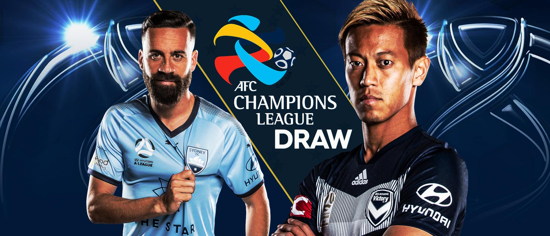 The Asian Champions League group stage draw takes place in Kuala Lumpur!