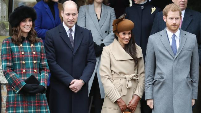 Rumours of tension between to royal couples have dominated the news cycle of late. Picture: Chris Jackson
