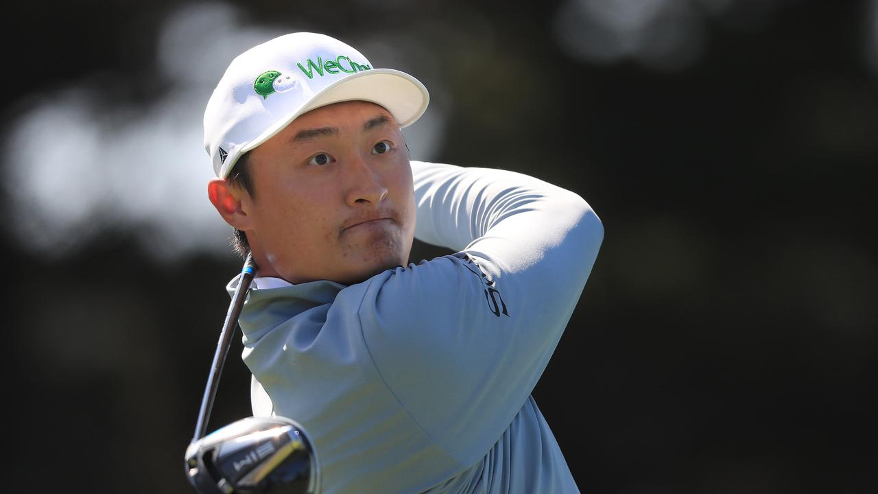 Haotong Li is the leader at the PGA Championship after two rounds.