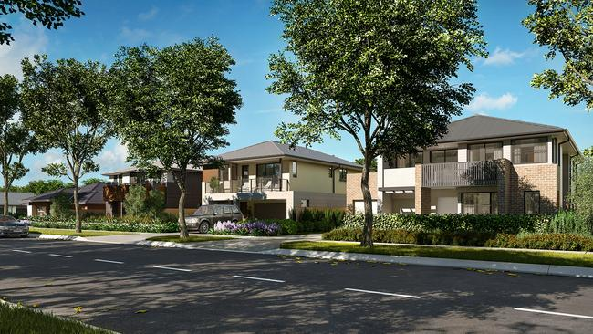 The Olivine estate will be home to 7000 residents once completed.