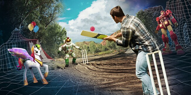 Backyard Cricket VR by Bodacity. Picture: Backyard Cricket Facebook page