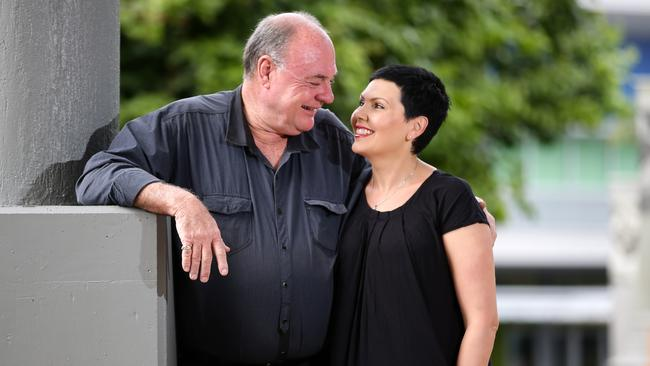 MP Warren Entsch with his wife Yolonde.