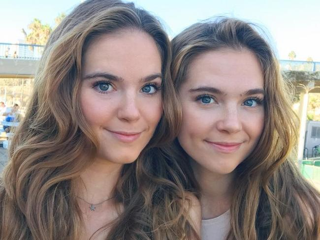 Twin sisters Nina and Randa Nelson now have clear skin, and say the cure was diet.