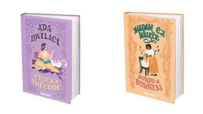 Two brand new books from Rebel Girls are available now. Image: Supplied