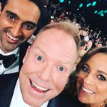 """Waleed Aly, Peter Helliar and Carrie Bickmore ... """"A big THANKYOU from us goofballs to all the amazing peeps who work on @theprojecttv every night #tvweeklogies"""" Picture: Instagram"""