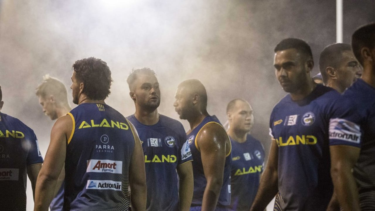The Eels were woken up at 3am for a training session. Pic: Parramatta Eels