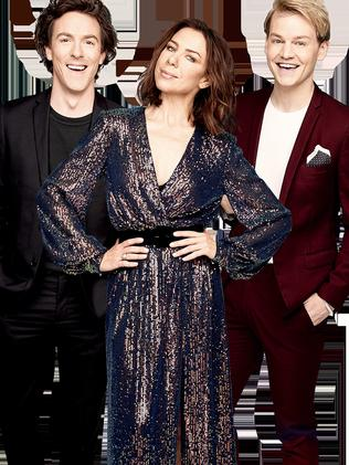 Joel Creasey, Kate Ritchie and Tim Blackwell. (Picture: Supplied)