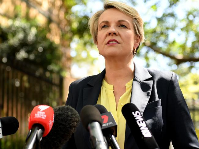 "Deputy Opposition Leader Tanya Plibersek says the gender pay gap is ""unacceptable"". Picture: AAP"