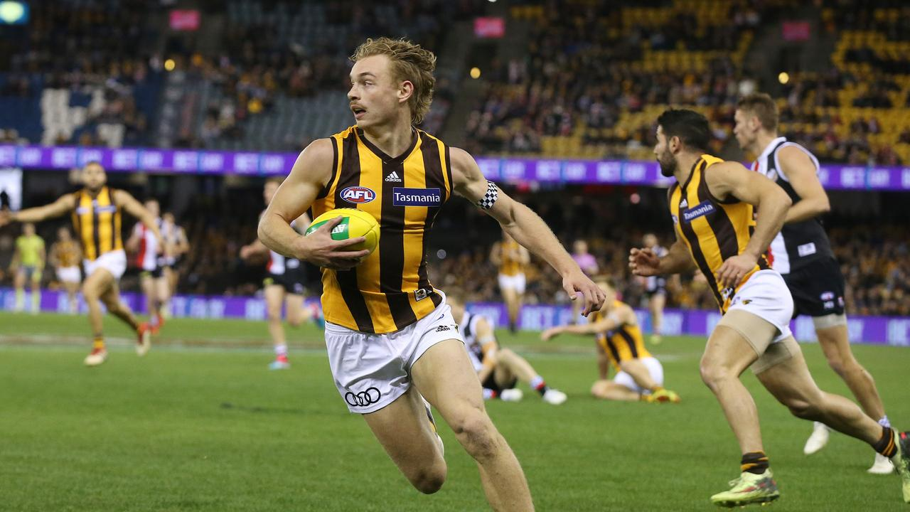 James Worpel is set to benefit from greater midfield minutes in light of Tom Mitchell's injury