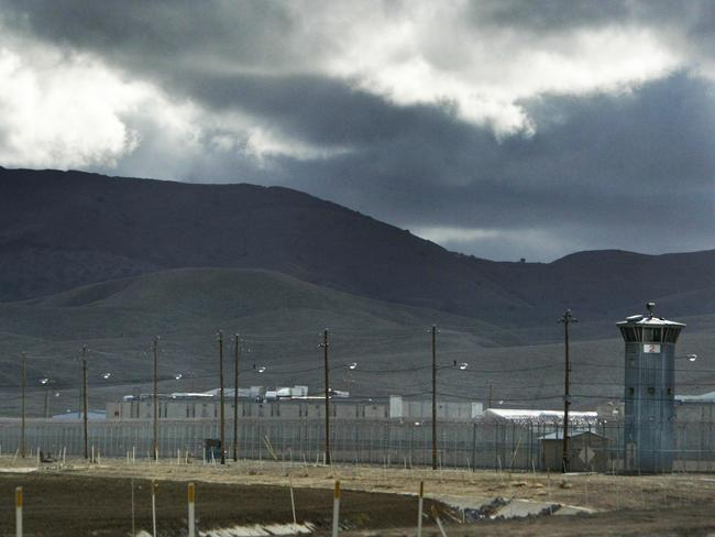 Avenal state prison in California where Spaliviero met drug cook Igor and learnt the ecstasy trade. Picture: Bryan Patrick/Sacramento Bee/Zuma/Alamy