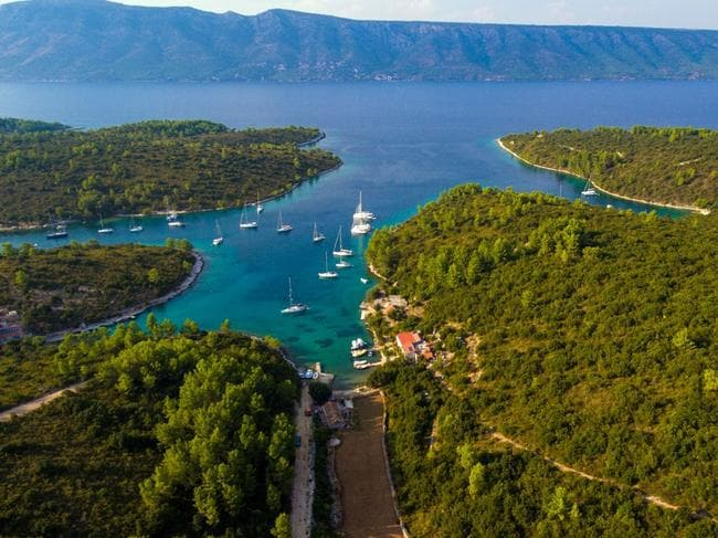 There's only one way to see Croatia - and it isn't by road.