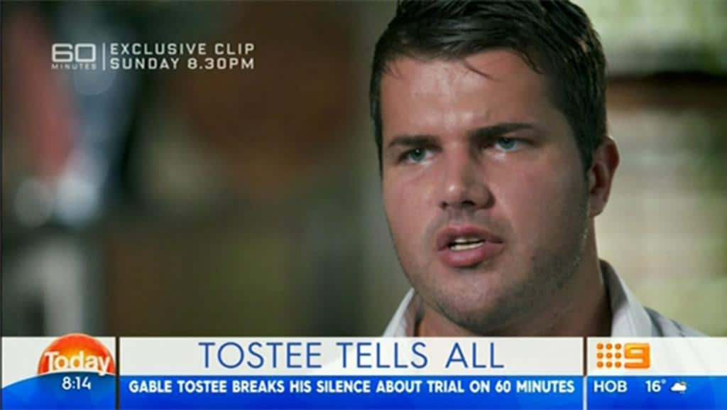 Tostee tells all