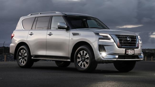 The Nissan patrol is petrol-only.